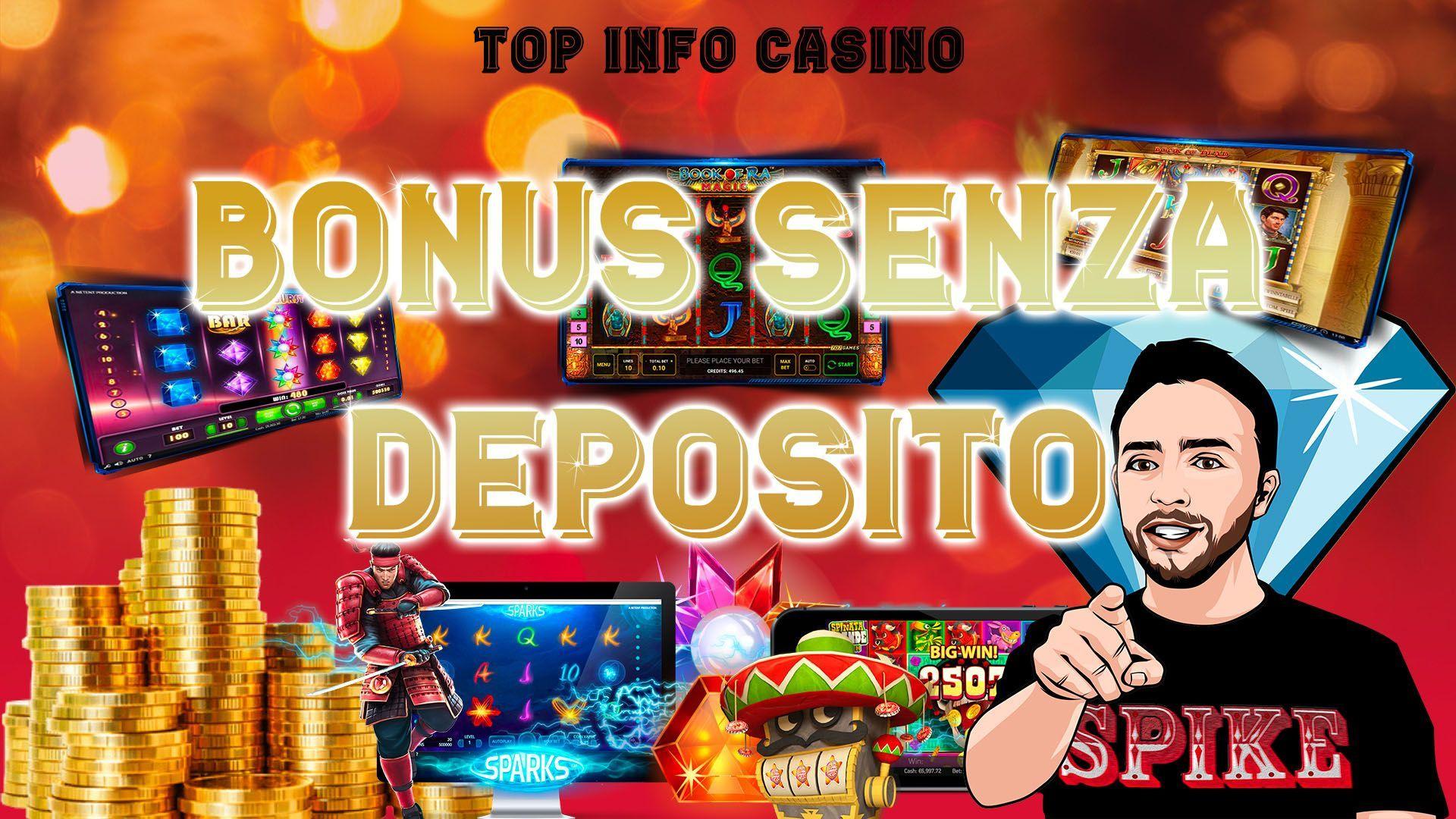 Logo Bonus Casino Senza Deposito Articolo