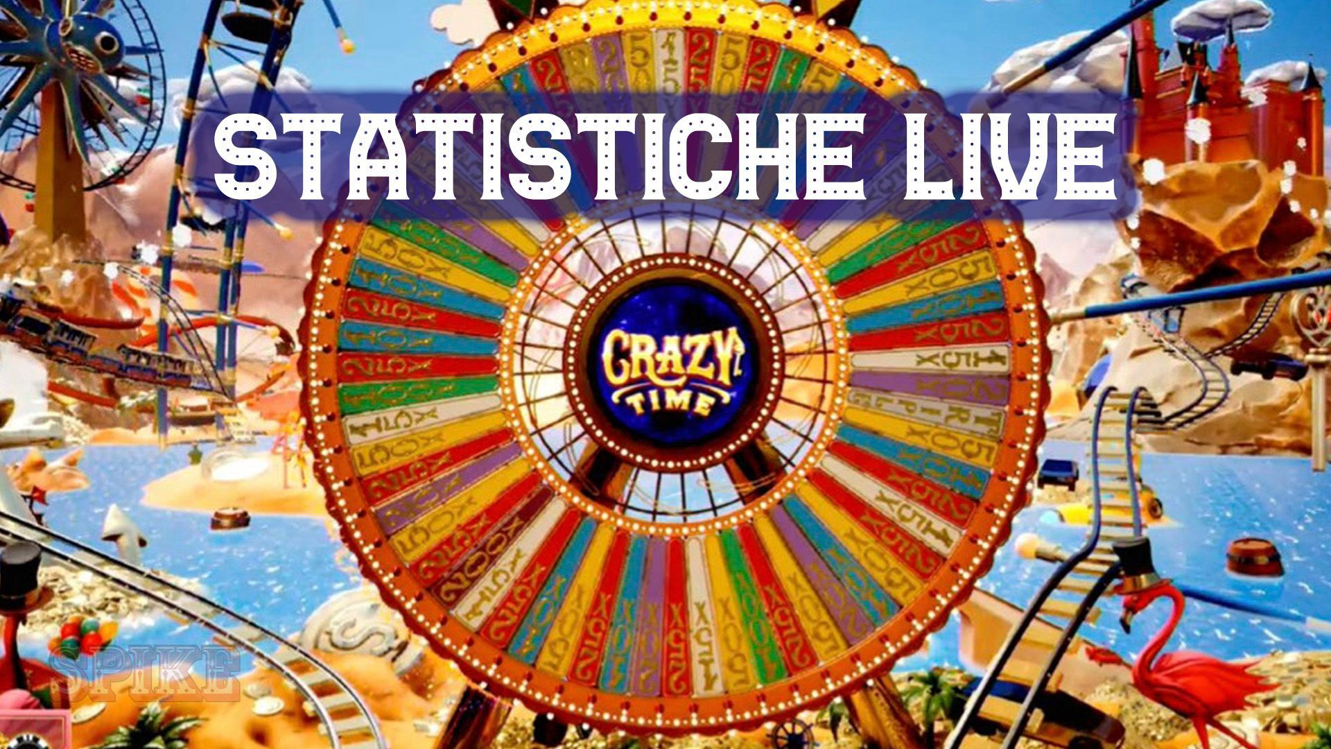 Crazy Time Stats Live Card