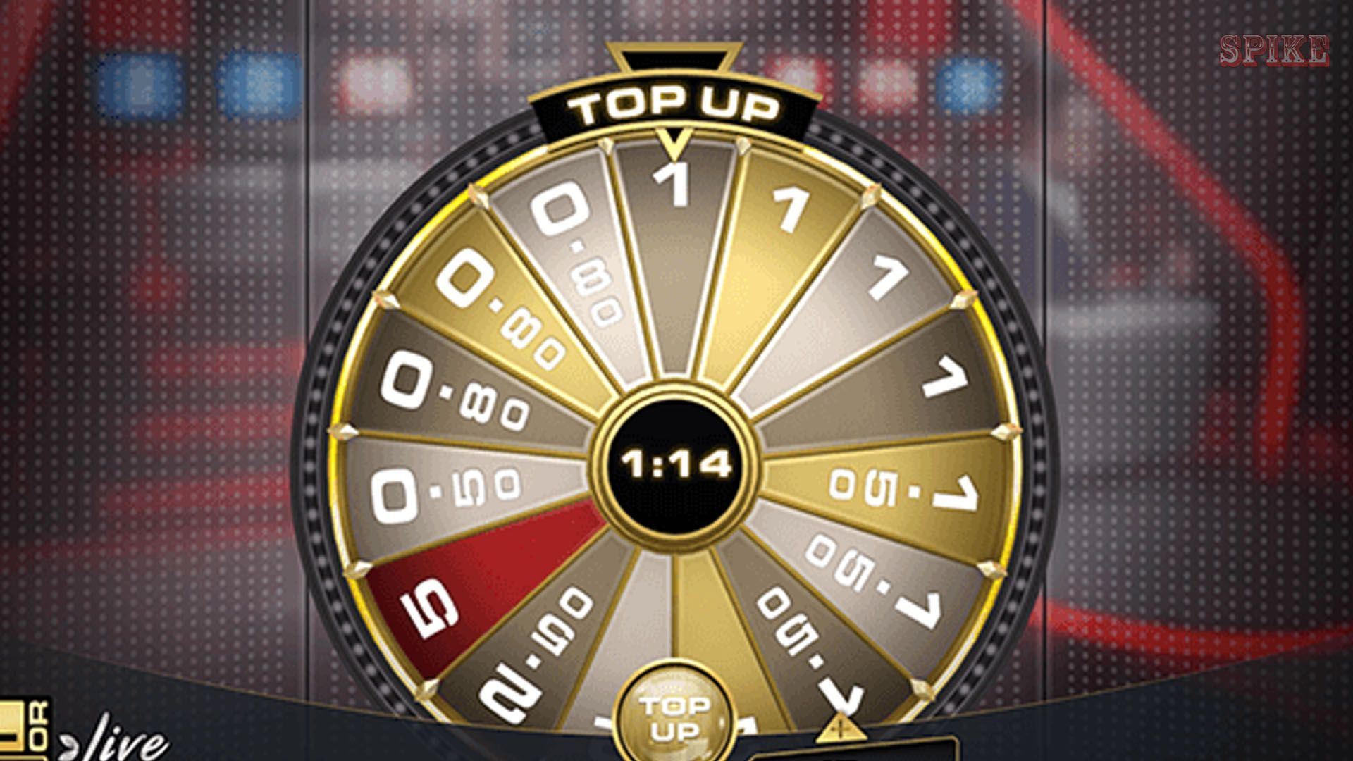Deal Or No Deal Evolution Gaming Live Top Up Phase Example
