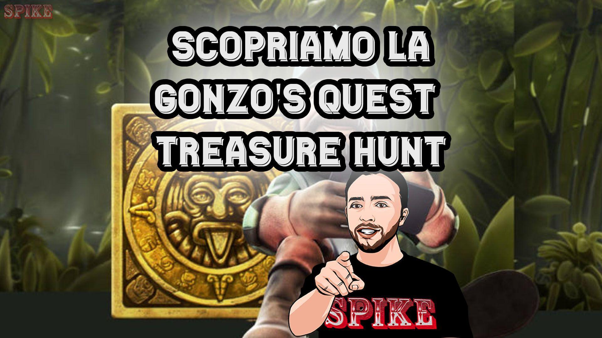 Gonzo's Quest Treasure Hunt