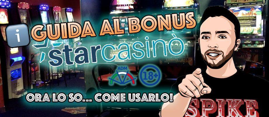 Guida al Bonus Starcasinò Card