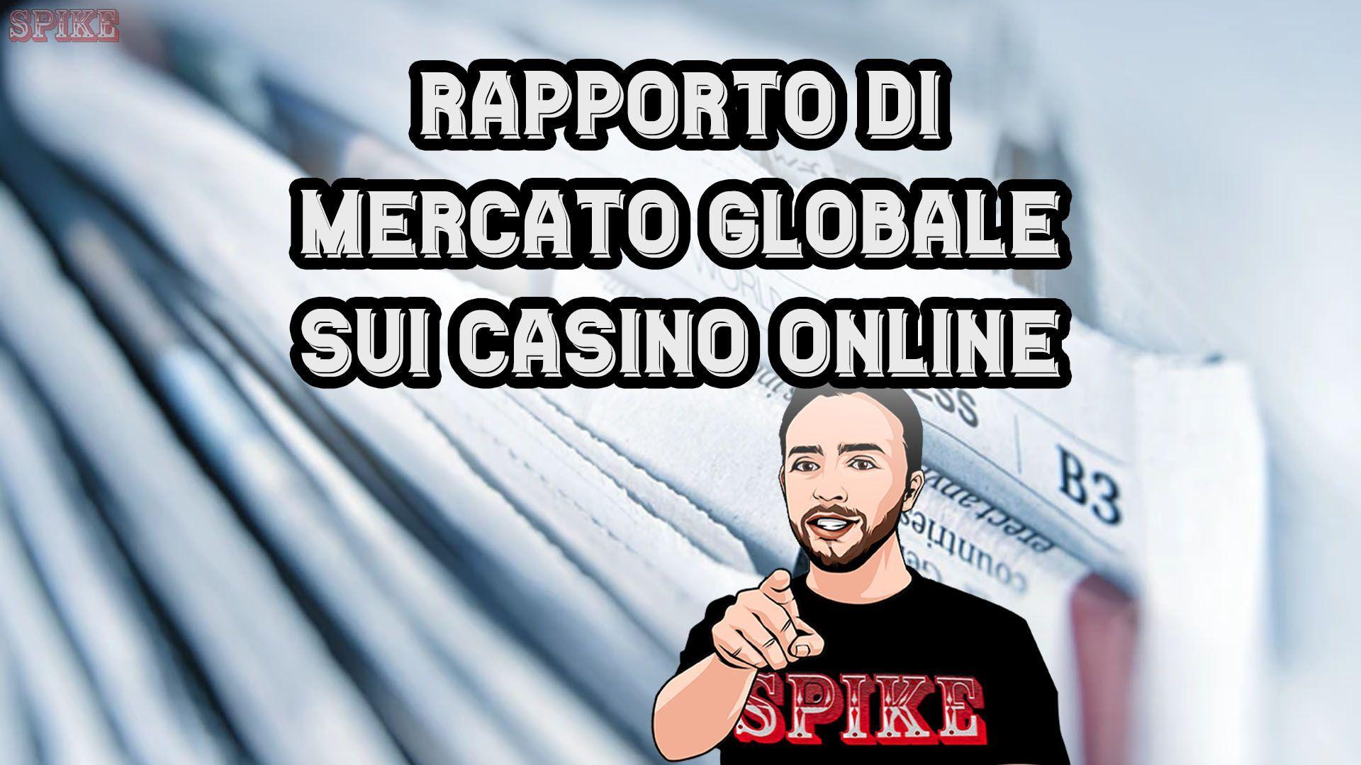 Ricerca di Mercato sui Casinò Online Resoconto Globale Card