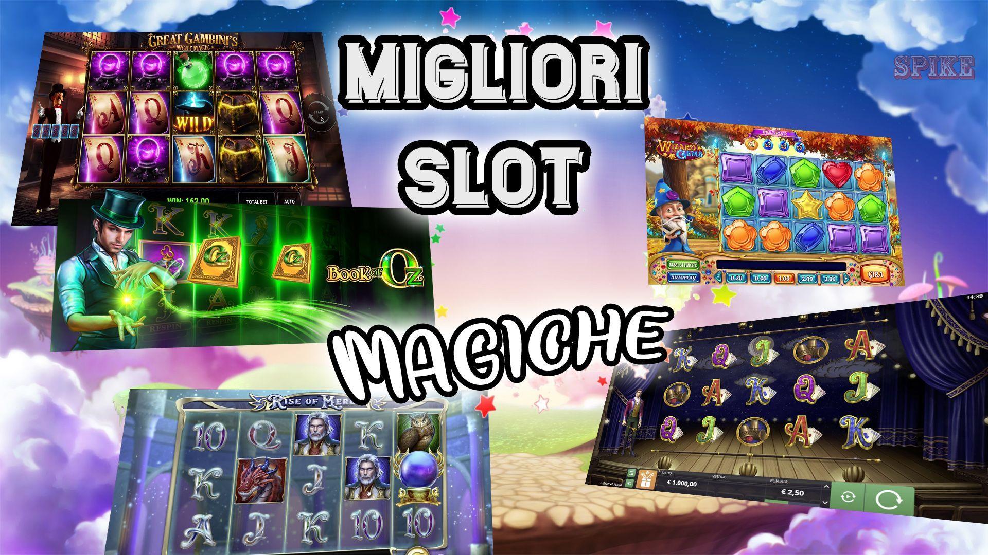 Lista Top Migliori Slot a Tema Magia Logo