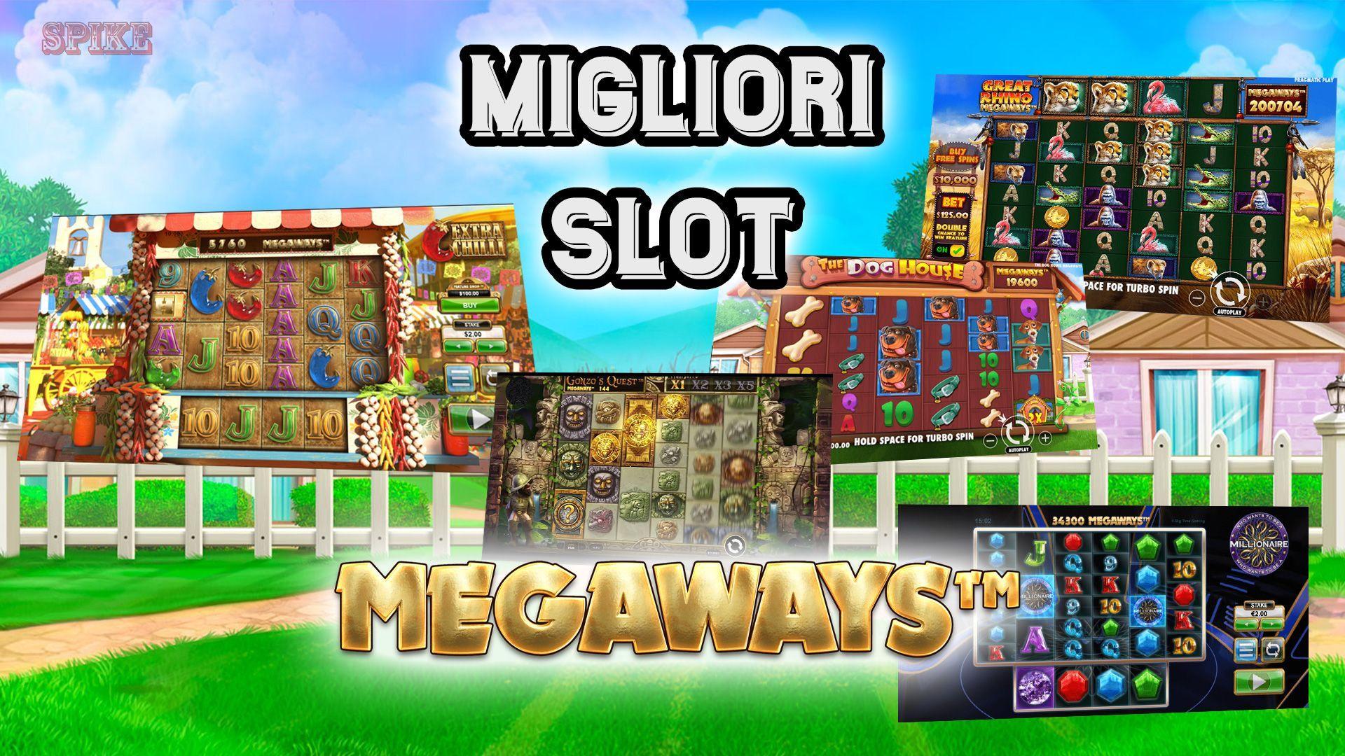 Lista Top Migliori Slot Megaways Logo