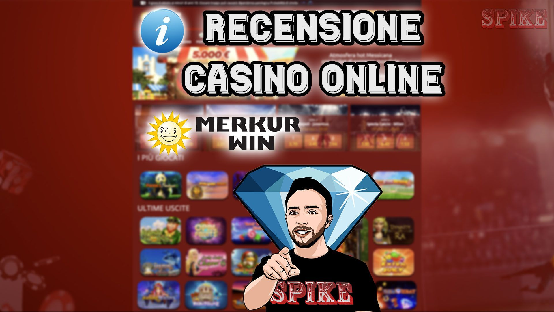 Recensione Online Casinò Merkur Win Bonus Guida Gratis