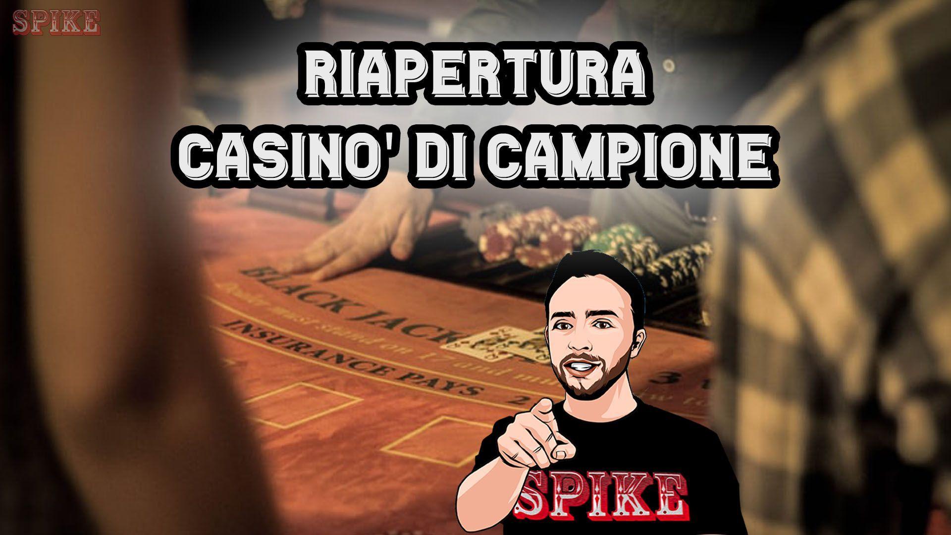 Riapertura Casinò Tradizione di Campione d'Italia
