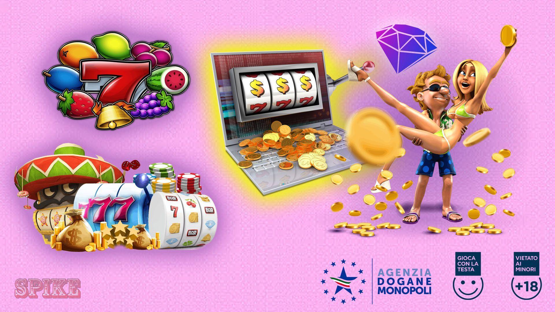 Slot Online Soldi Veri Prova Gratis Logo