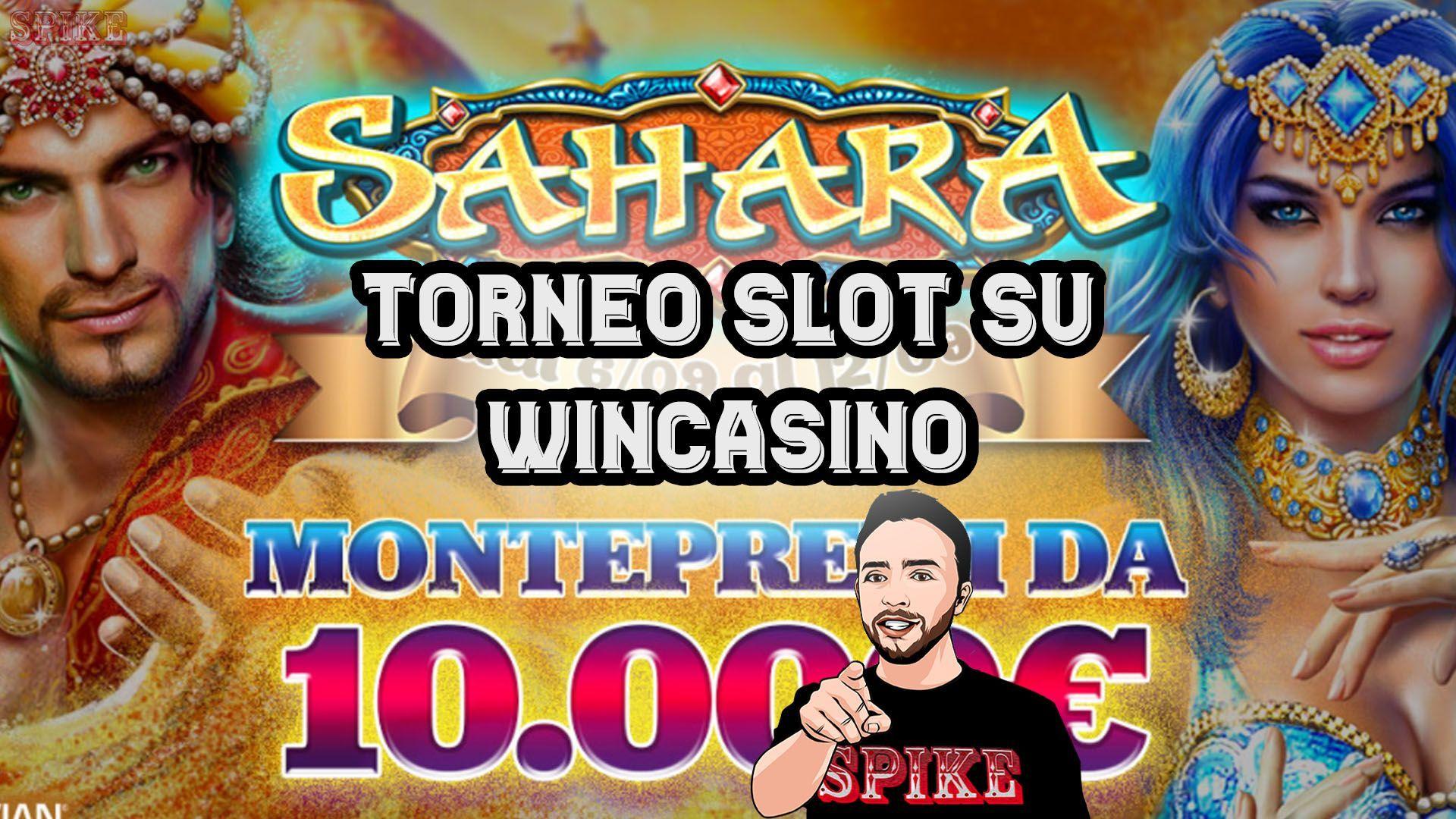 Torneo Top Slot Sahara Race