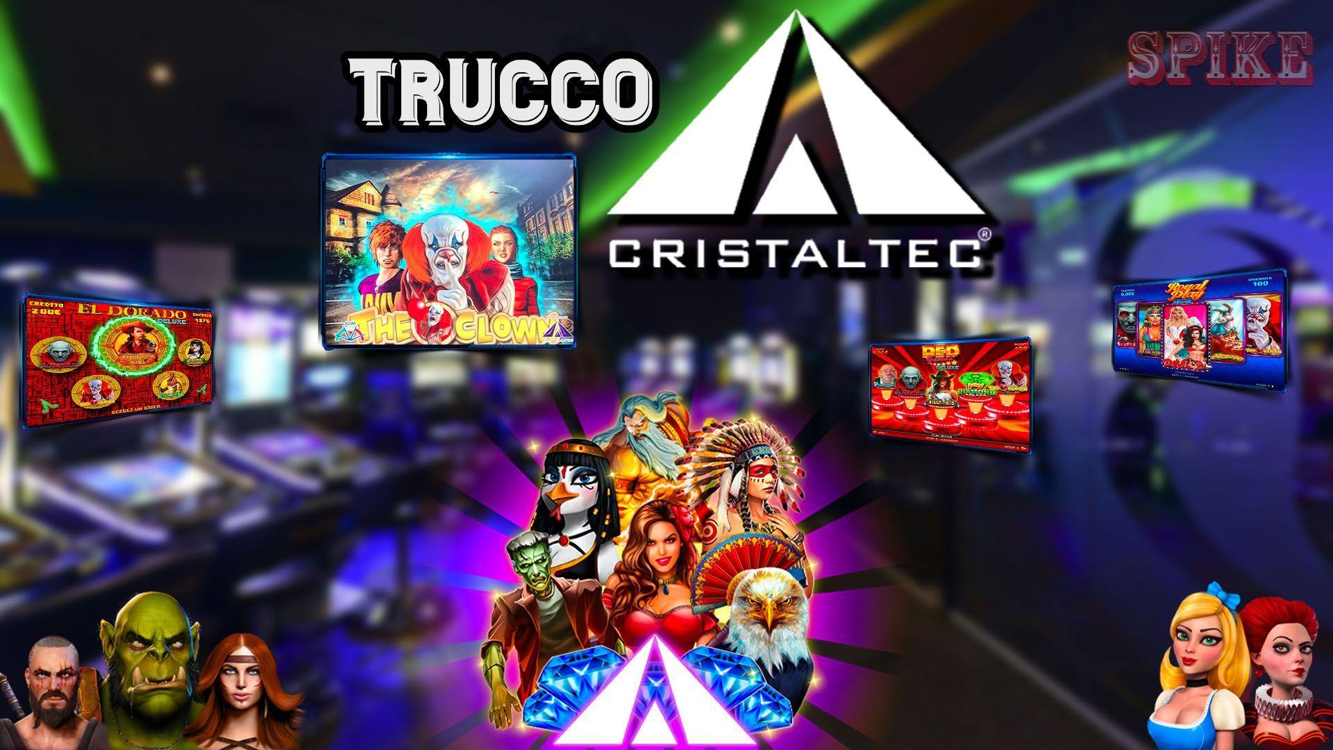 Trucco Slot Clown Cristaltec Logo Articolo