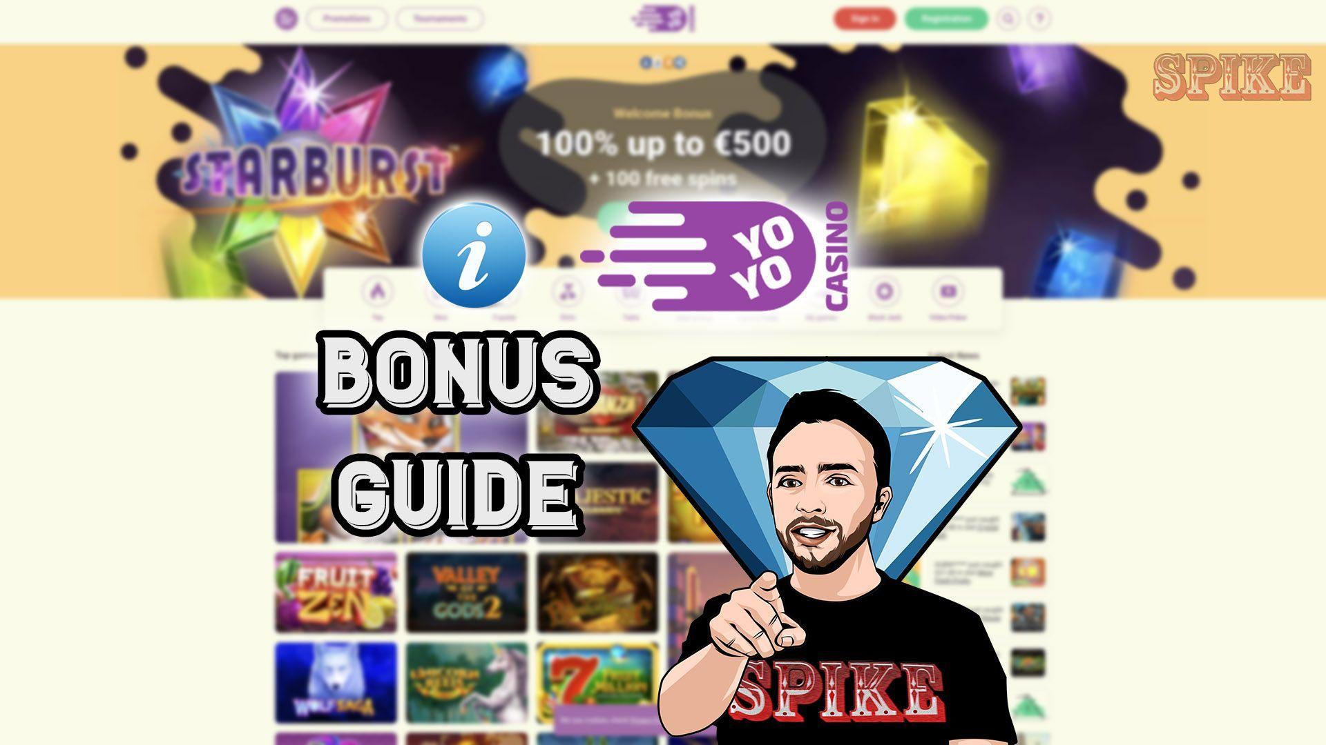 YoYo Casino Bonus Guide Logo